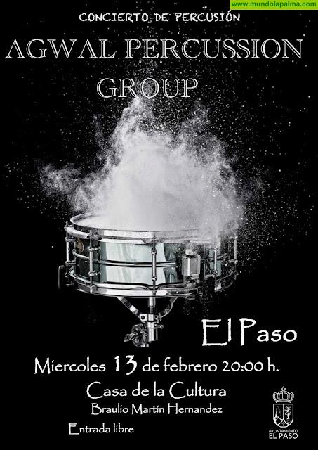 Agwal Percussion Group este miércoles en El Paso