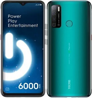 Tecno-spark-power-2-green-color