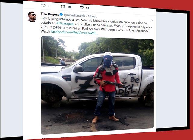 La oposición paramilitar nicaragüense, `Los Zetas´, y las fechas para el golpe de estado programadas