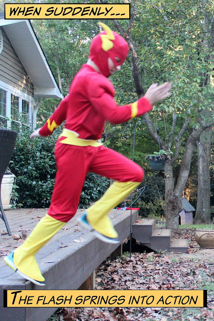 Flash Halloween Costume