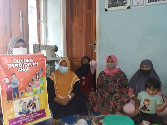 Family Capacity Building Meeting, Child Care and Education at Home