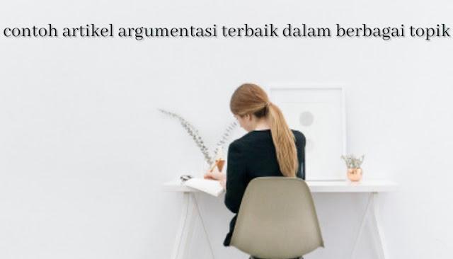 contoh artikel argumentasi