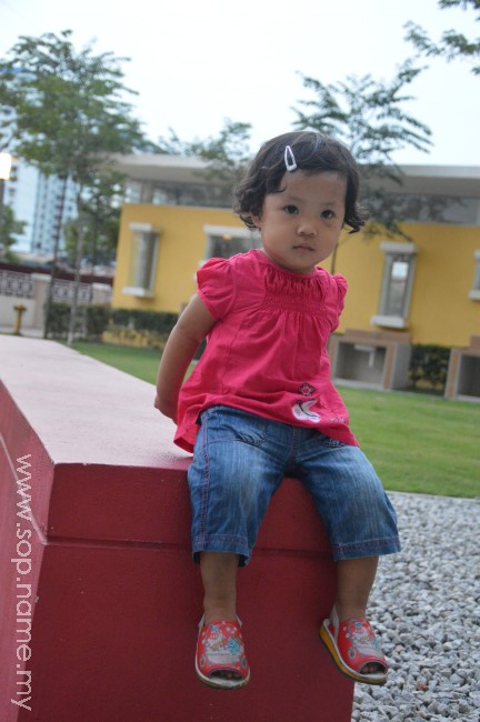 Photoshoot Auni di taman PV13
