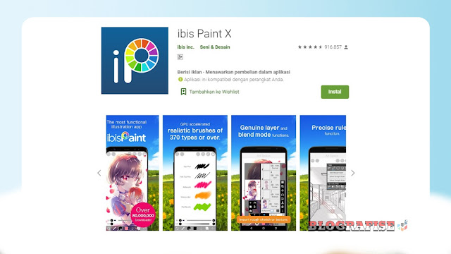 Cara Menggambar di Ibis Paint X Android Untuk Pemula