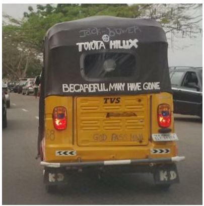 Wow! This Hilarious Photo of a Keke NAPEP Will Teach You Lessons in Self-esteem
