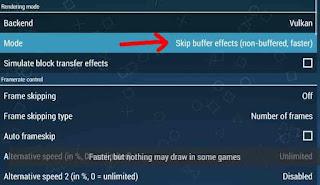cara setting ppsspp gold agar tidak lag dan suara jernih