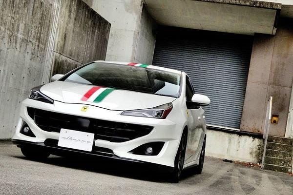 Albermo Toyota Prius Ferrari FF