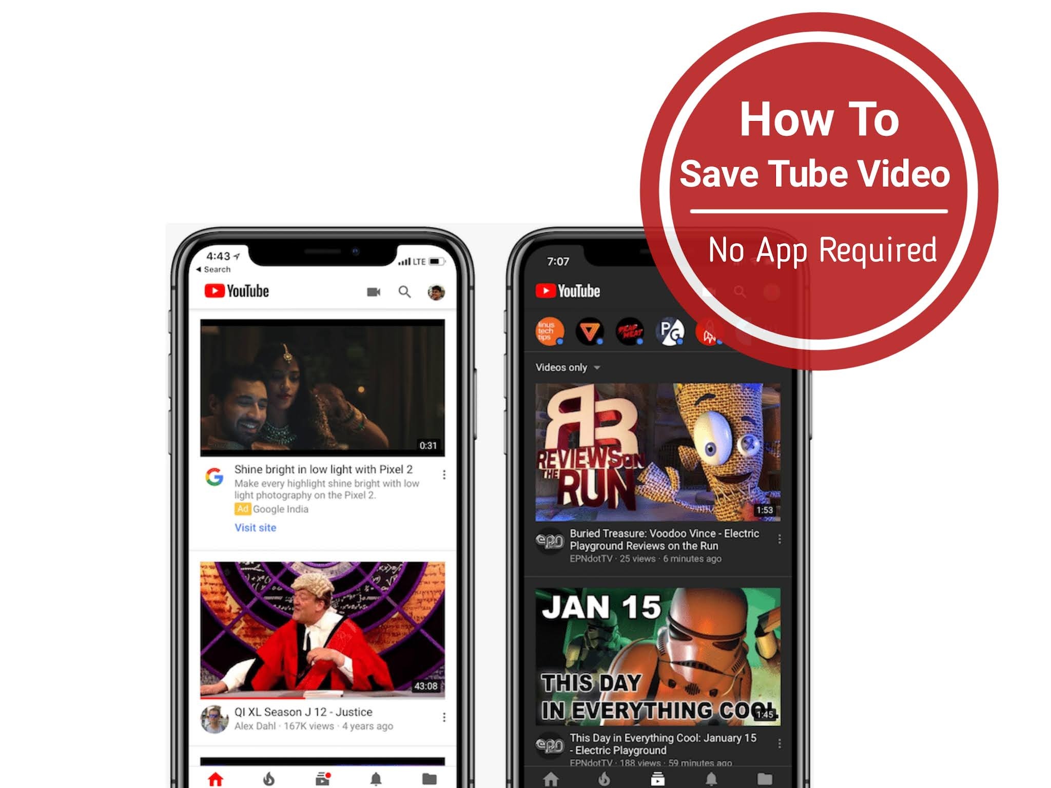 How To Save YouTube Video Without Using YouTube Downloader