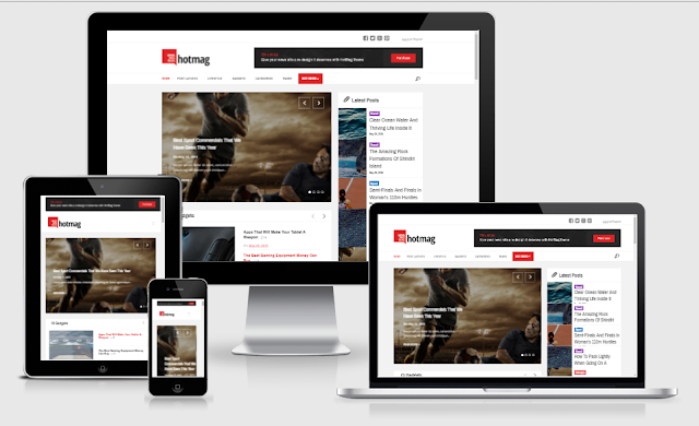 HotMag v1.2 – WordPress News, Magazine Responsive Theme