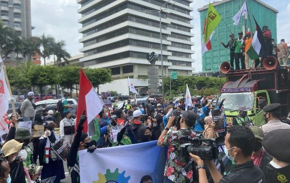 Aksi Solidaritas Palestina di Jakarta, 2 WNA Ditangkap
