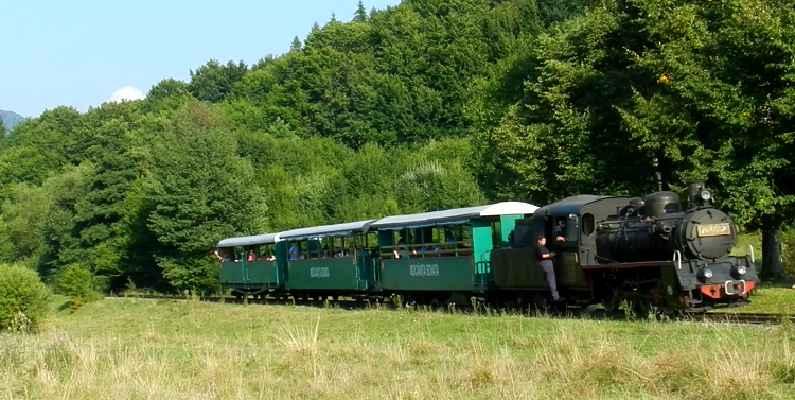 Mocănița din Sovata, tren, transport și caracter.