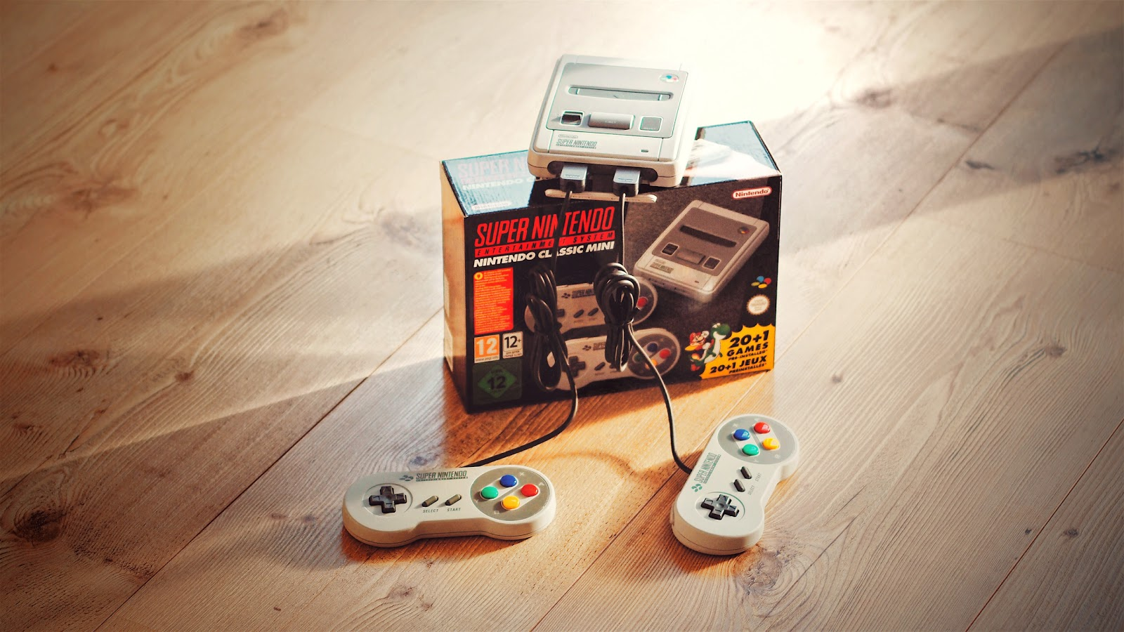Das Super Nintendo Entertainment System - Classic Mini im Atomlabor