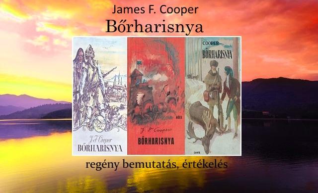 James F. Cooper Bőrharisnya regény bemutatás, értékelés
