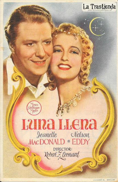 Luna Llena - Programa de Cine - Jeanette MacDonald - Nelson Eddy