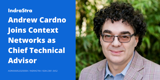 Andrew Cardno Joins Context Networks as Chief Technical Advisor