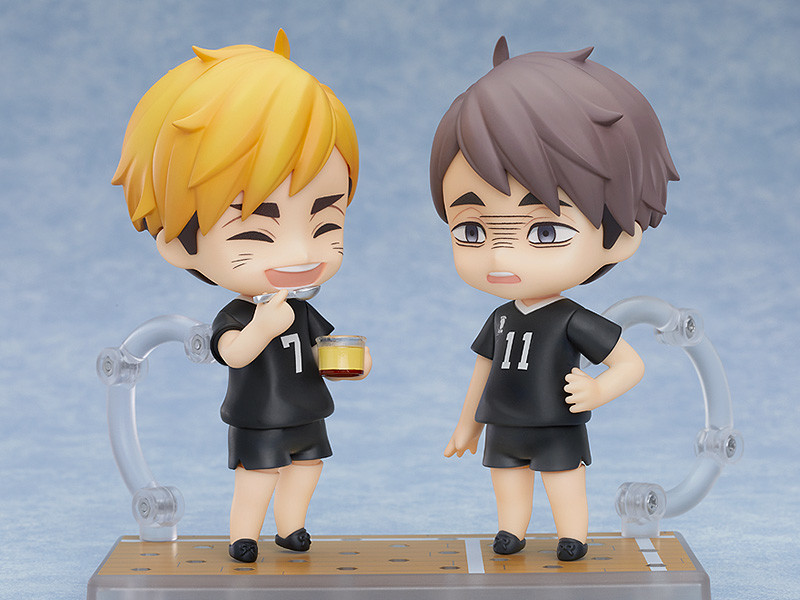 Figuras: Nendoroid Osamu Miya de Haikyu!!, Good Smile Company