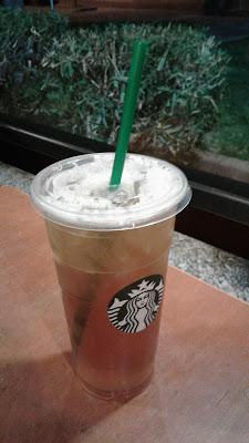 Starbucks Trenta Iced Green Tea Refill #2