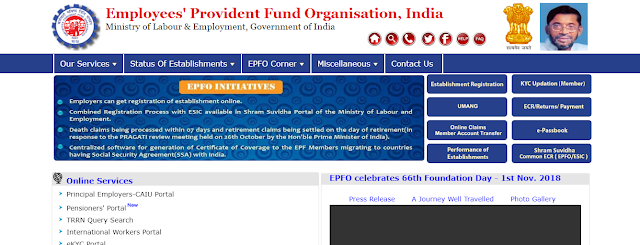 """Employees' Provident Fund Organization"""