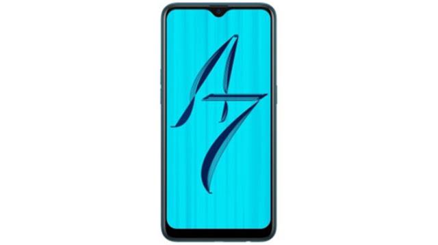 Layar dan Desain Oppo A7