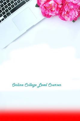 Online College Level Courses