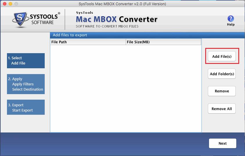 convert pst to mbox mac os x