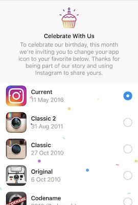 cara mengubah ikon instagram di smartphone android