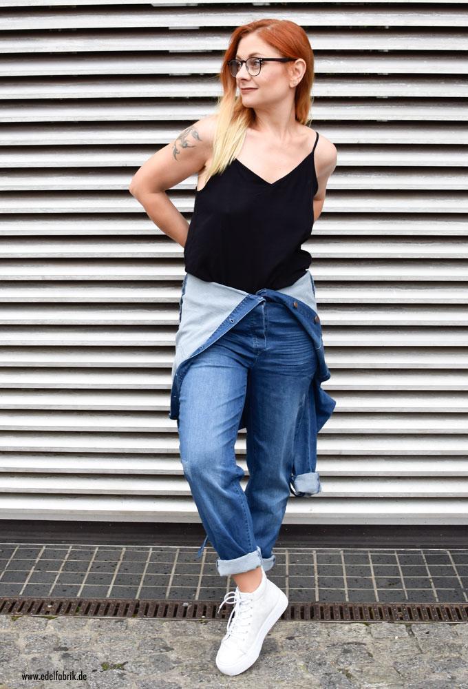 Denim Overall aus der Heidi Klum Kollektion für Lidl, Jeansoverall
