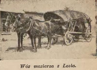 wóz maziarza z Łosia