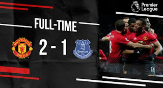 Manchester United vs Everton 2-1 Video Gol & Highlights