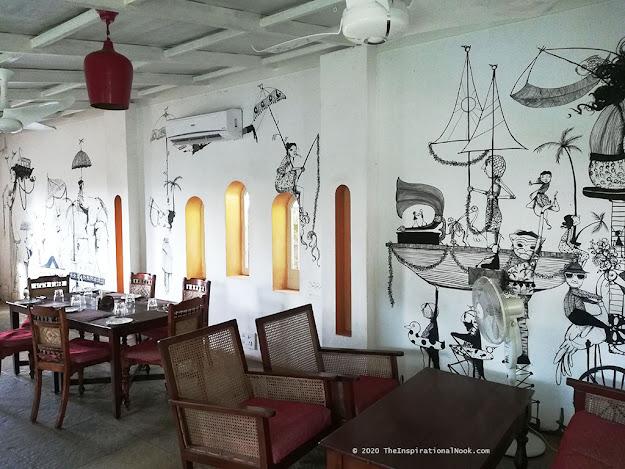 Denise Duong, mural, Fort Cochin, Kerala, India