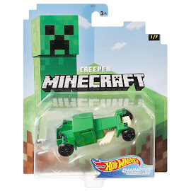 Minecraft Creeper Hot Wheels Character Cars Figure