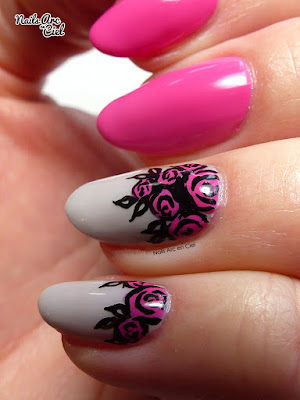 Nail Art - Bouquet de roses super rapide et facile pour débutants