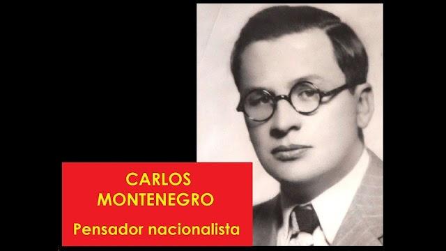 Carlos Montenegro (1903 - 1953): escritor y político boliviano