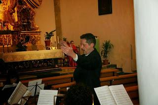 Resultado de imagen de misa de santa cecilia site:www.semanasantadebaza.com