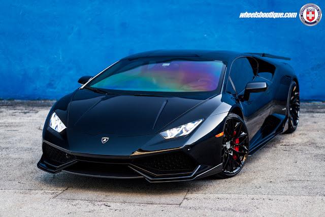 Lamborghini Huracan on HRE Wheels - #Lamborghini #Huracan #HRE #Wheels #tuning #supercar