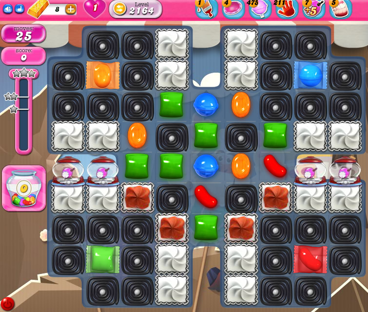 Candy Crush Saga level 2164