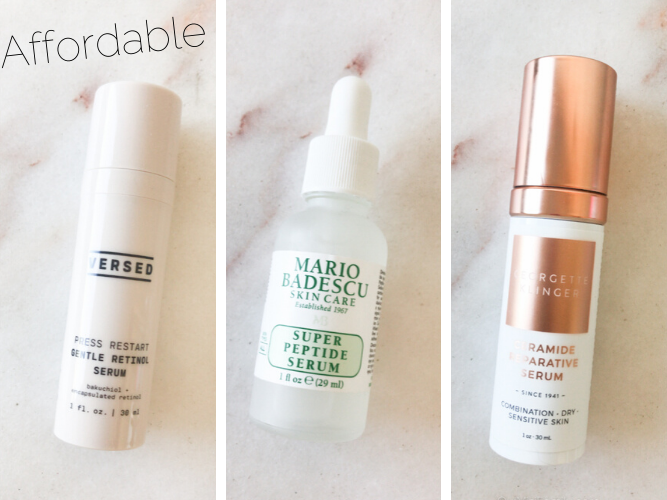 Affordable face serums for normal to combination skin