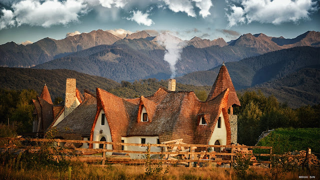 Clay Castle of the Valley of Fairies Sibiu - Romania