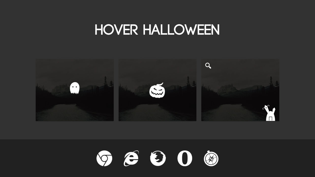 Image Hover halloween