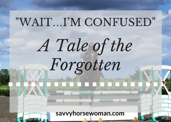 Wait…I'm confused – A Tale of the Forgotten
