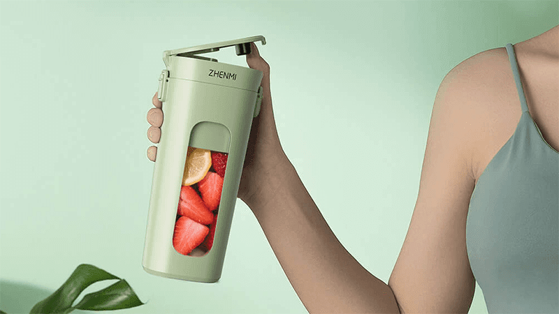 Xiaomi wants you to improve your immune system, announces a Wireless Vacuum Portable Juicer