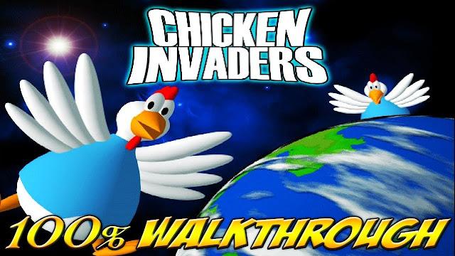 تحميل لعبة الفراخ Chicken Invaders
