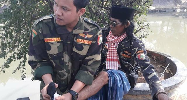 Bayar Nadzar Kemenangan Duet Jokowi-KH Ma'ruf Amin, Banser NU Ini Jalan Kaki dari Mesuji ke Istana Negara