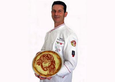 Ermanno Ruggieri ambasciatore della pizza artistica nel mondo