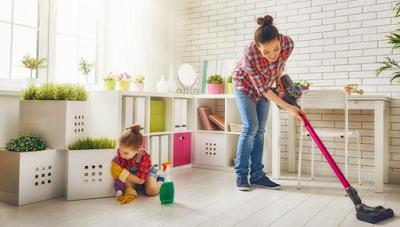 Jaga Kesehatan dengan Rutin Bersihkan Rumah