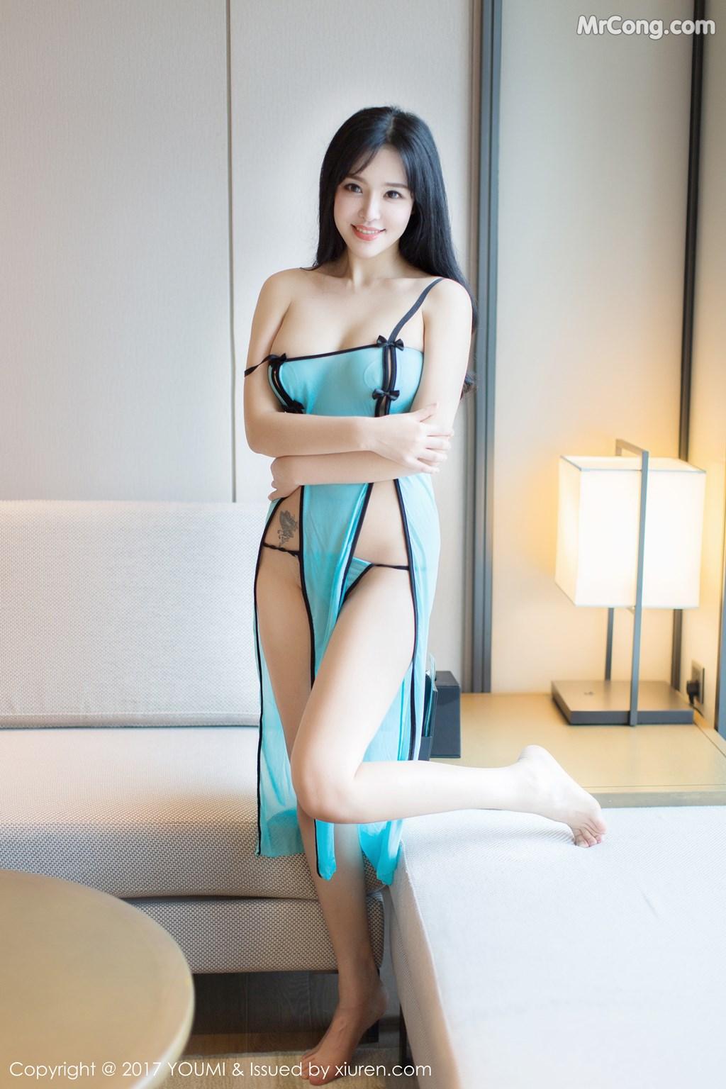Image YouMi-No.067-Liu-Yu-Er-MrCong.com-033 in post YouMi No.067: Người mẫu Liu Yu Er (刘钰儿) (45 ảnh)