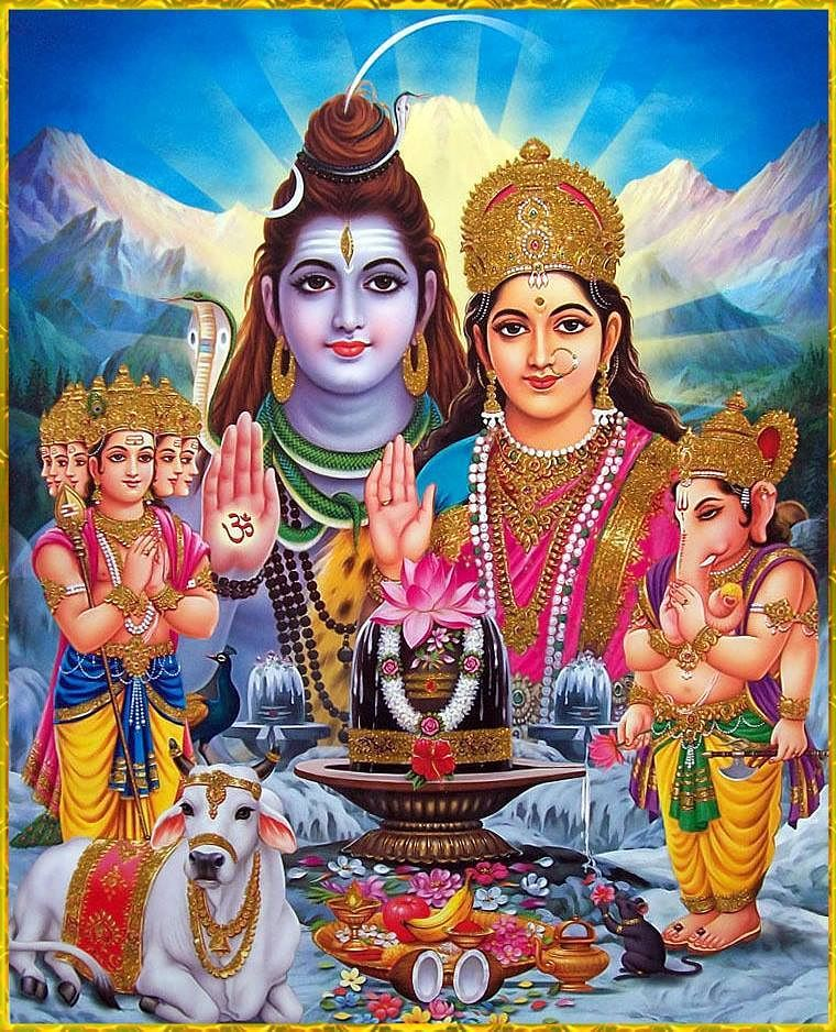 Lord Shiva family - Photos, Information and History ...