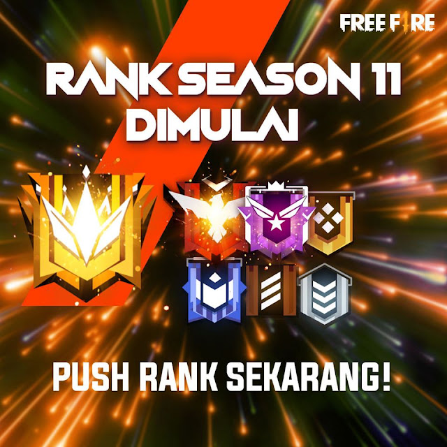 Reset Time Rank Free Fire Season 10 Jam Berapa ? Menuju Season 11