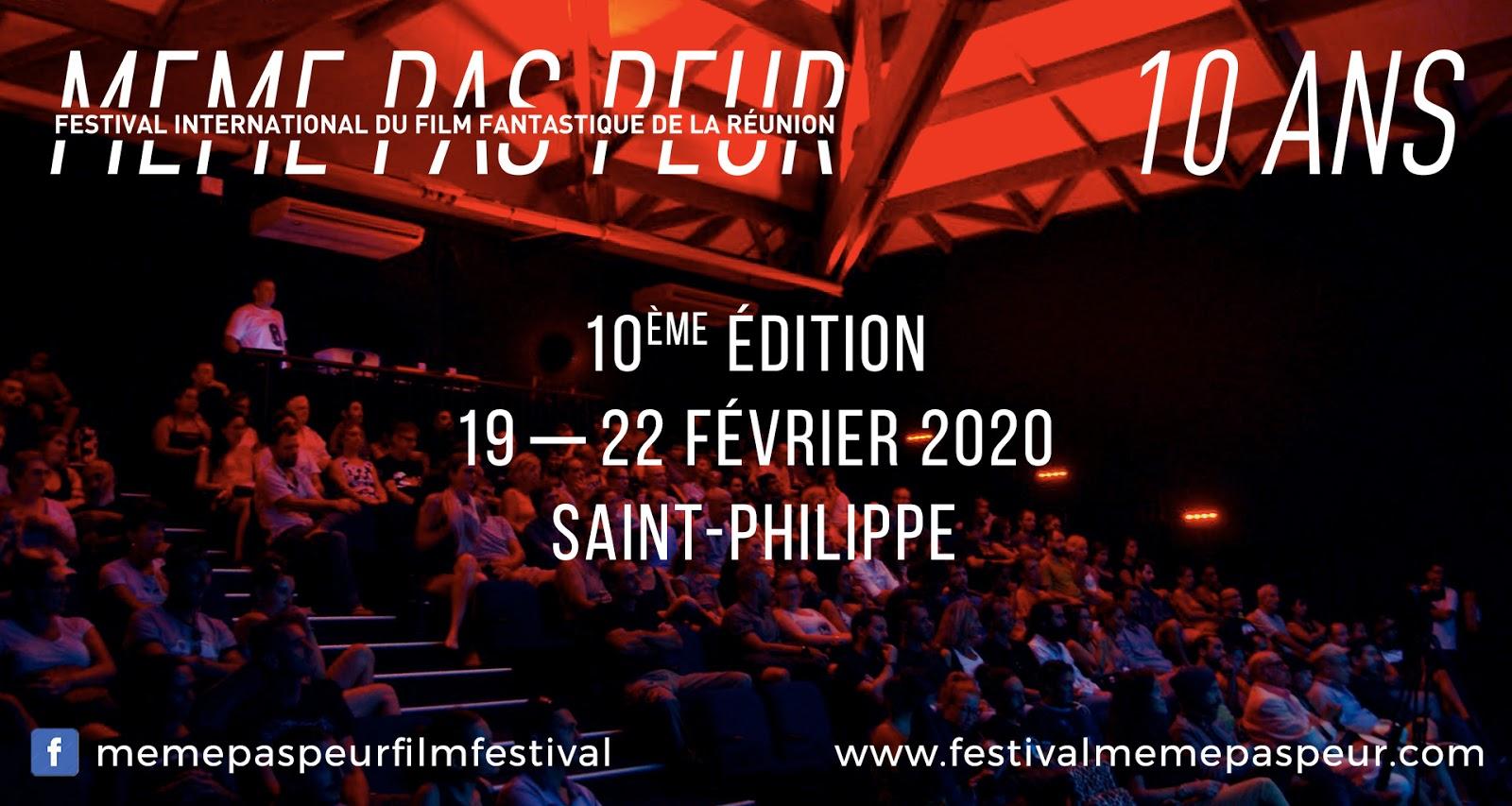 Festival MEME PAS PEUR : les dates de la 10ème édition !