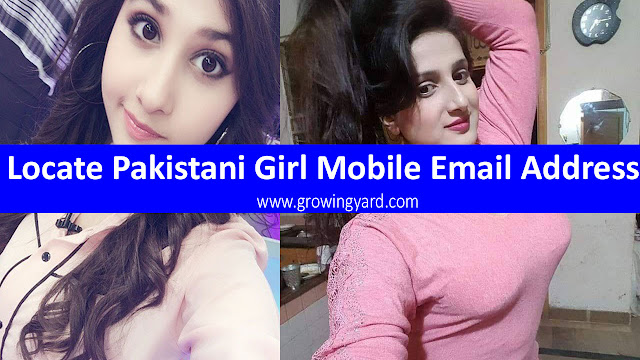 Locating a Pakistani Girl Mobile Email Address